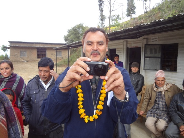 Nepal: Chiranjibi, our guide and one of my favorite people in the universe
