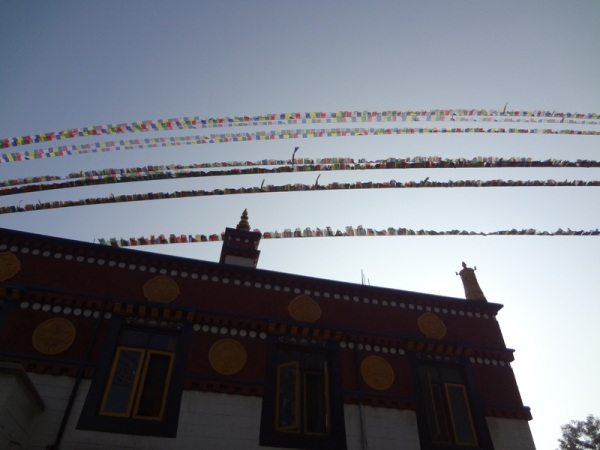 Nepal: Prayer flags