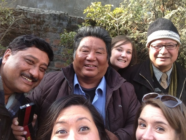 Nepal: Post meeting goof off