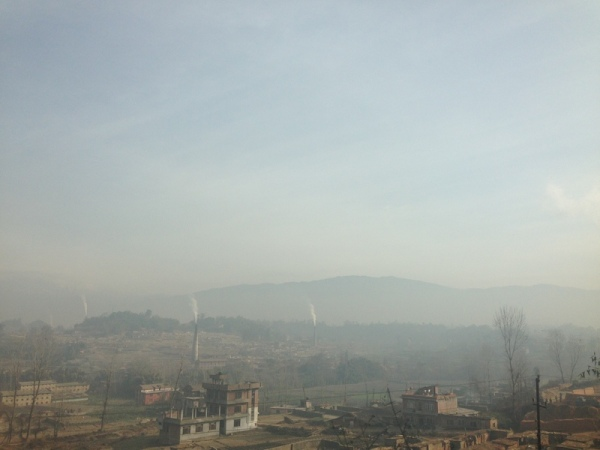 Nepal: On the way to Dhulikhel
