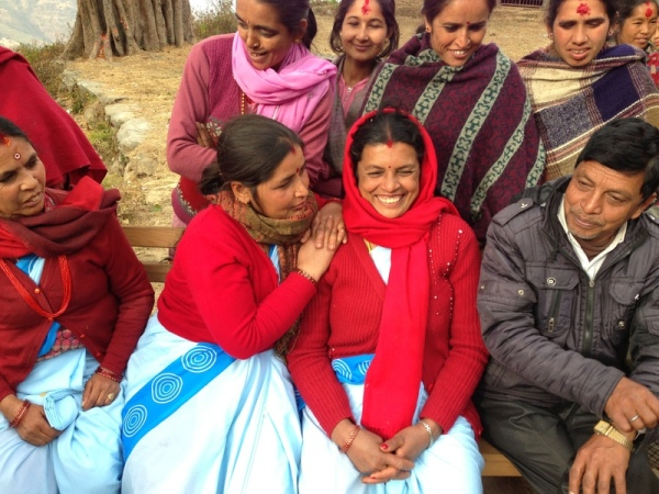 Nepal: Nurses working in Dhulikhel